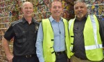 Ex-PM Visits Cherbourg's Recycling Plant