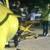Boy's Arm Trapped In Feeder