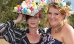 Easter Bunny Salutes At Nanango
