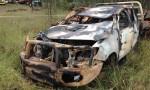Robbers Burn Stolen Ute