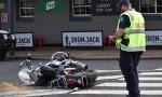Rider Dies In Hospital