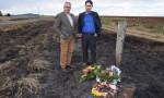 Wreaths Laid At Kumbia Crash Site