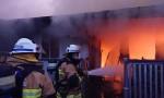 Fierce Blaze Destroys Home