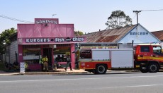 Fire Crews<BR> Called To Cafe