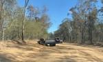 Stolen Ute Crashes On Dirt Road