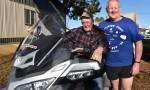 Bikers Take A Break In Kingaroy