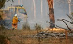 Wind Whips Up Goodger Fire