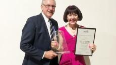 Kathy Receives Unique Council Award
