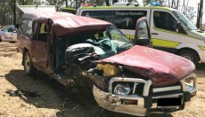 Man Critically<br> Injured In Crash