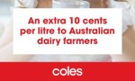 Coles Pays $5.25m To End Milk Dispute