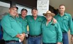 Green Shirts Make Their Voices Heard