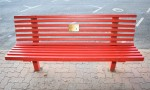 Red Benches<br> Send A Message