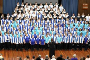 South Burnett Youth Choir<br> Shines At Brisbane Festival