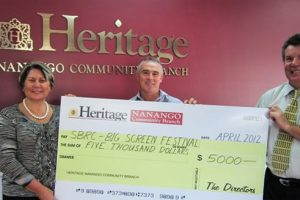 Big Cheque For A Big Screen Night