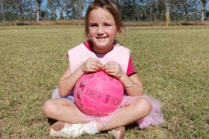 Netballers Turn Pink For Charity
