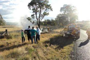 Rural Firies Called To Grass Fire