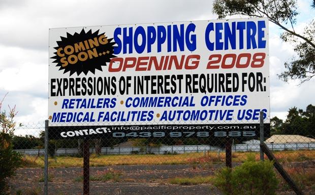 Proposed Nanango shopping centre