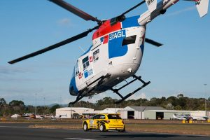 AGL Chopper Races Into Action
