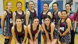 St Mary's Wins Netball Final