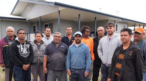 new home welcomes first tenants