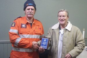 Lodge Supports Work Of SES