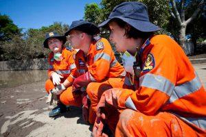 SES Volunteers Test Their Skills