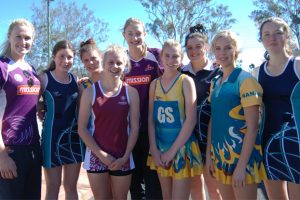Local Netballers All Fired Up