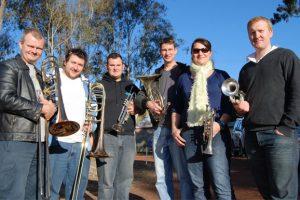 Top Brass Blows Into Wondai