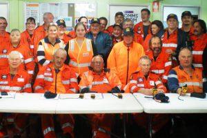 SES Volunteers Train With GPS