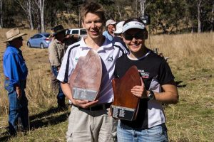 Orienteers Tested By Blackbutt Courses