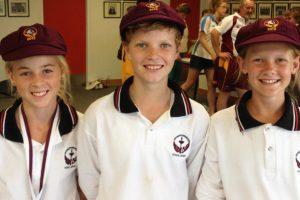 Trio Capped For Queensland