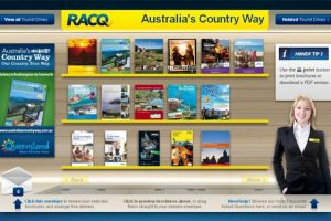 RACQ Launches 'Virtual' Visitor Centres