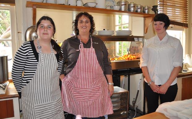 Samantha Crawford, Judy Crawford and Beth Baker