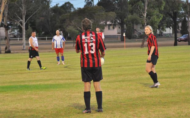 South Burnett soccer team