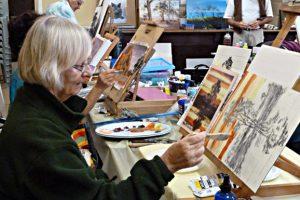 Art Workshop Draws Talent