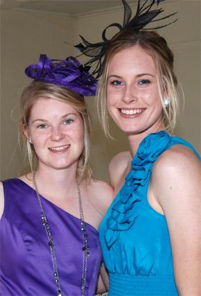 Lauren Cross and Holly Ferling