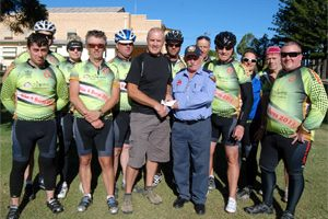 Cyclists Fired Up By Donation