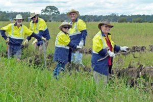 Volunteers Blaze A Trail Of Hope