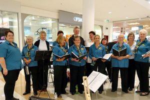 Choir Sings Out In Shoppingworld