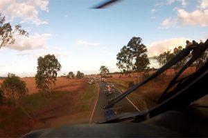 Crash Blocks Highway