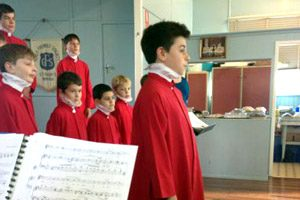 Choristers Sing Up A Storm