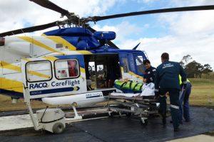 Two Hurt In Bike Crash