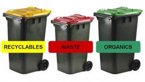 Recxycling bins