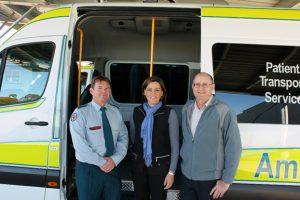 Four New Ambulances For South Burnett