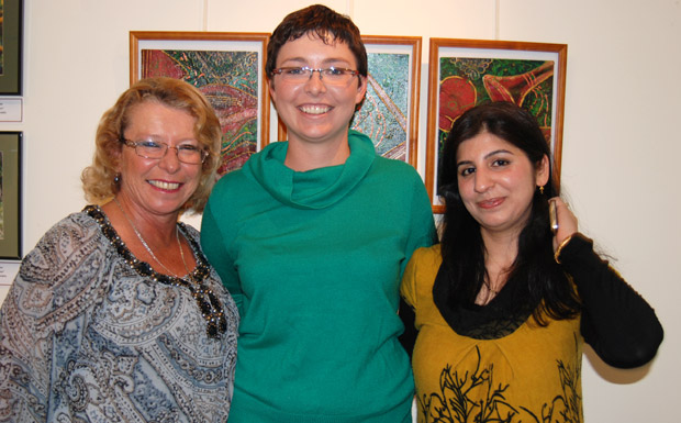 Eleanor Bellgrove, Jessica Beohm and Sayali Wadegaonkar