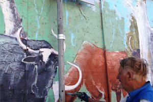 Work Starts On Street Art