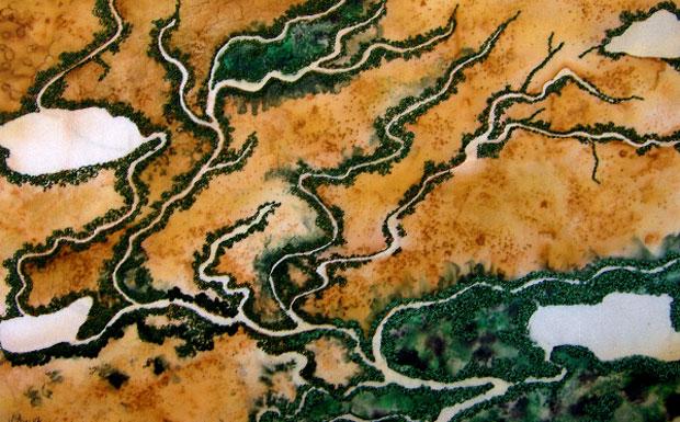 Bunya Mountains textile art