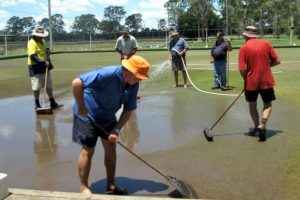 Tansey Bowls Club Back In Business