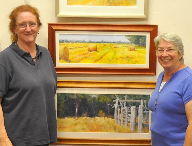 Karol Oakley and Joanne Tollefson