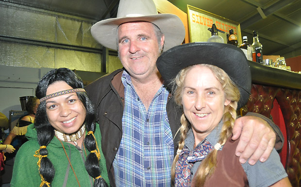 Abigail Andersson, Trevor Ivins and Marie Williams